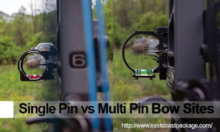 single pin vs multi pin bow sites